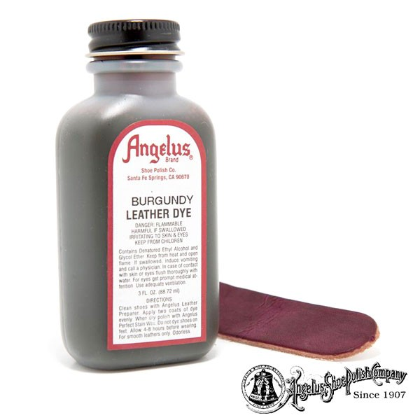 american duchess angelus leather dye