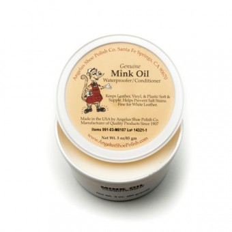 Angelus Mink Oil Waterproofer and Conditioner