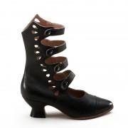 """Colette"" Button Boots (Black)(1890-1920)(Pre-Order)"
