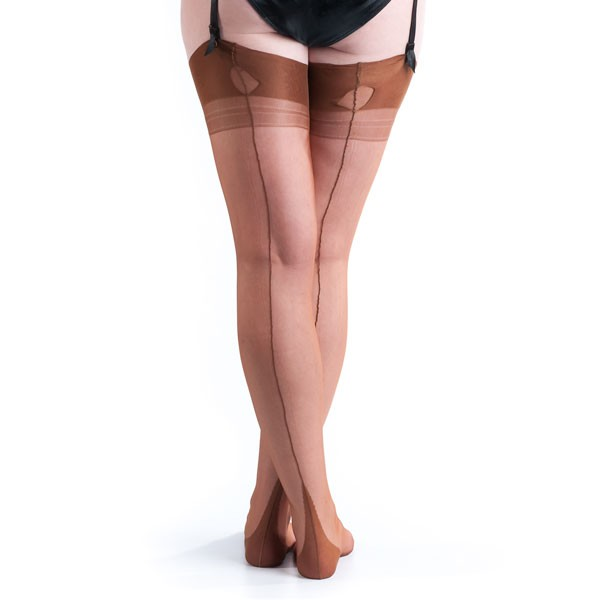 1920s Style Stockings & Socks Fully Fashioned Stockings $33.00 AT vintagedancer.com
