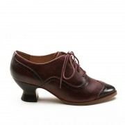"""Londoner"" Edwardian Oxfords (Cherry)(1900-1925)"