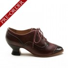 """Londoner"" Edwardian Oxfords (Cherry)(1900-1925)(Pre-Order)"