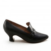 """Moliere"" Edwardian Pumps (Black)(1900-1925)(Pre-Order)"