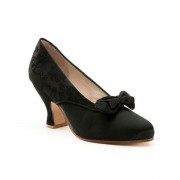 """Seabury"" Edwardian Pumps (Black)"