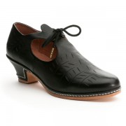 """""""Stratford"""" Elizabethan Shoe (Black)"""