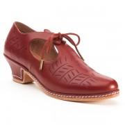 """""""Stratford"""" Elizabethan Shoe (Oxblood)"""