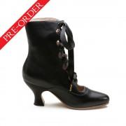 """Tango"" Edwardian Boots (Black)(1890-1930)(Pre-Order)"