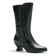"""Tavistock"" Victorian Button Boot (Black)"