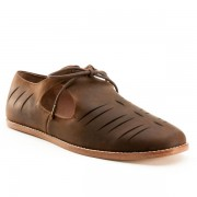 """Virginia"" Renaissance Shoe (Brown)(Pre-Order)"